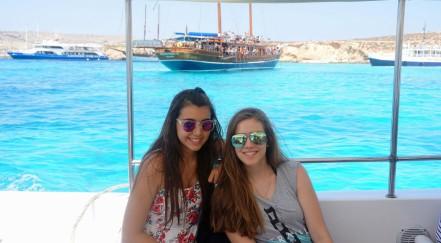 Milica i Aleksandra, Blue Lagoon, Malta