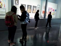 Danijela, Ana i Anja u Nacionalnoj galeriji, jezicko putovanje My LONDON