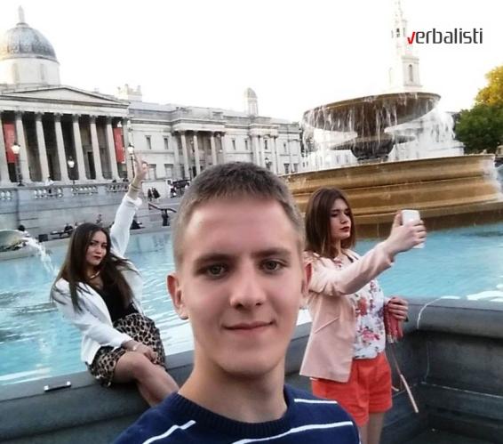 Drasko, Aleksandra i Alma na jezickom putovanju My LONDON, Verbalisti