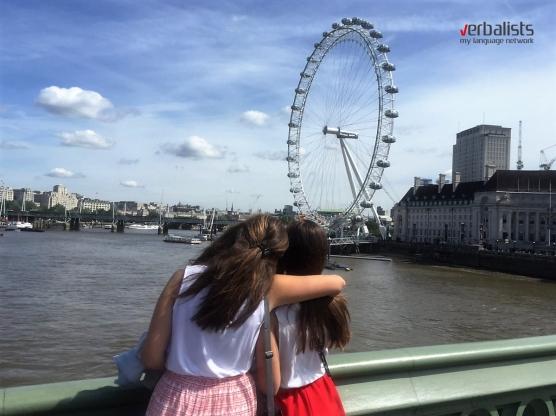 Prijateljstvo i uspomene za ceo život, jezičko putovanje My LONDON