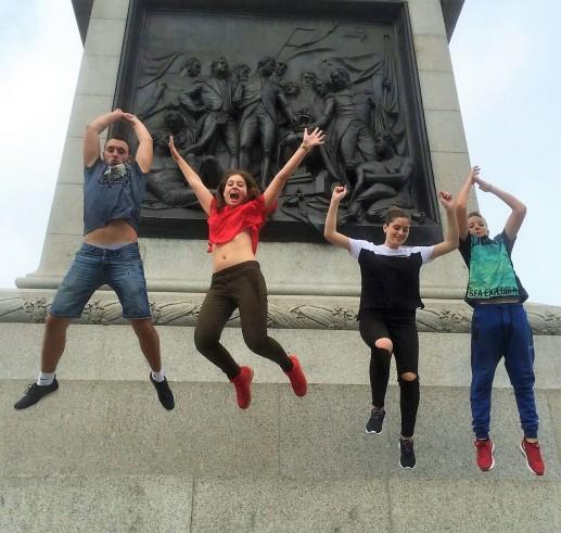 Verbalisti na Trafalgar trgu