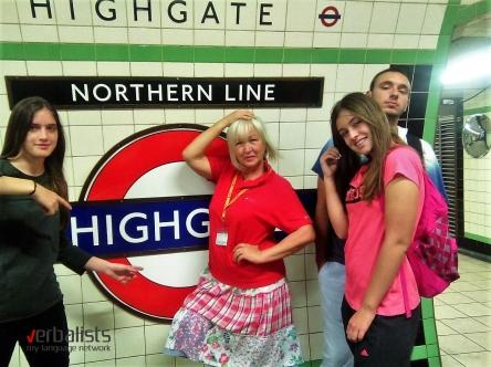 Završetak jezičkog prepodnevnog putovanja i početak skolskog dana, program My LONDON