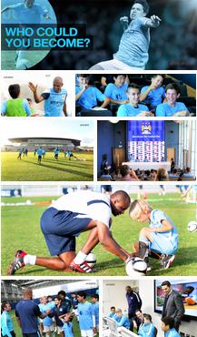 škola fudbala i engleskog jezika Manchester City