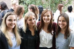 Verbalistkinje pred polazak na ekskurziju u Oksford