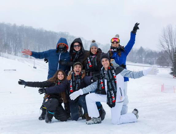 Kursevi engleskog u Kanadi, skijaški izlet 14