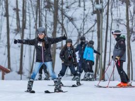 Kursevi engleskog u Kanadi, skijaški izlet 3