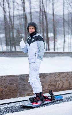 Kursevi engleskog u Kanadi, skijaški izlet 6