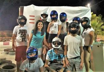 Verbalisti karting tim na Malti