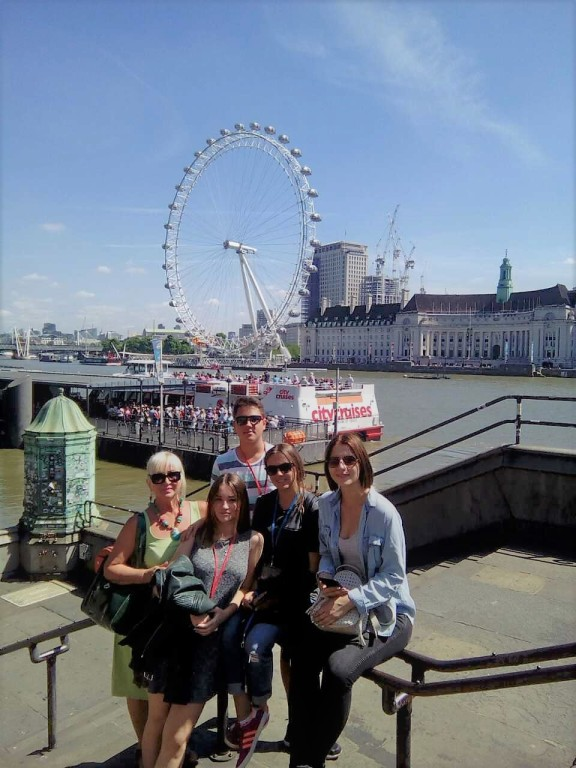 Jovana i jezičko putovanje My LONDON