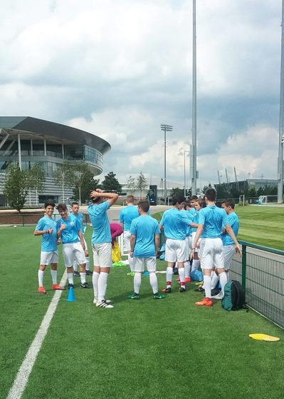 Man City Academy training sessions, Patrick Zanella