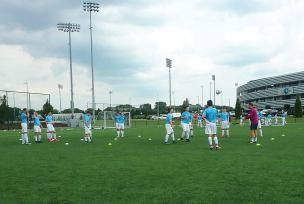 Man City Academy training sessions