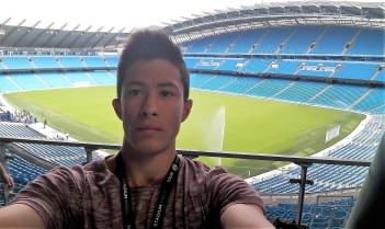 Patrick at Man City Etihad stadium, Verbalists