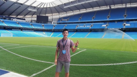 Patrick Zanella at Manchester City football stadium, Verbalists