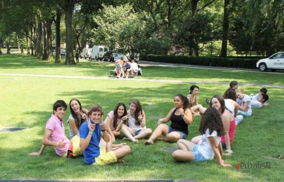Odmor u okviru univerzitetskog kampusa