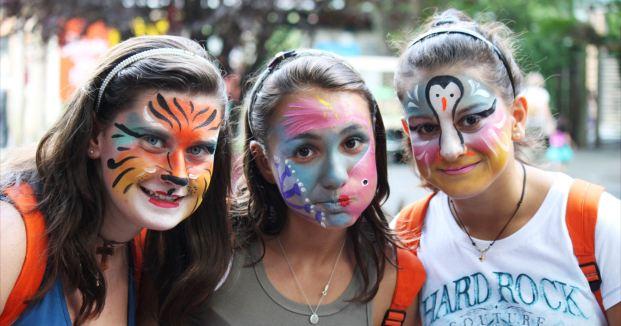 Vannastavne aktivnosti skole jezika u Njujorku i ekskurzija u Bronx-Zoo, Verbalisti