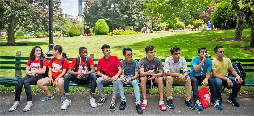 Akademski program i kurs engleskog u Americi, Boston University, Verbalisti